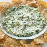 Hot Arichoke and Spinach Dip | The Girl Who Ate Everything