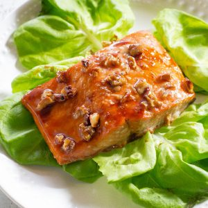 Honey Pecan Salmon