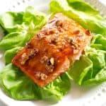Honey and Pecan-Glazed Salmon