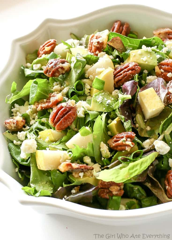 Image result for roquefort pear salad