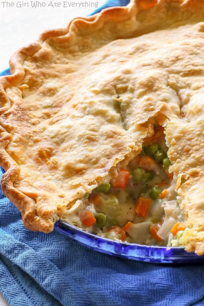 Chicken Pot Pie Mixed Vegetables Recipe. JRPG Branch Record easy than