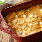 Football Kickoff – Buffalo Chicken Dip