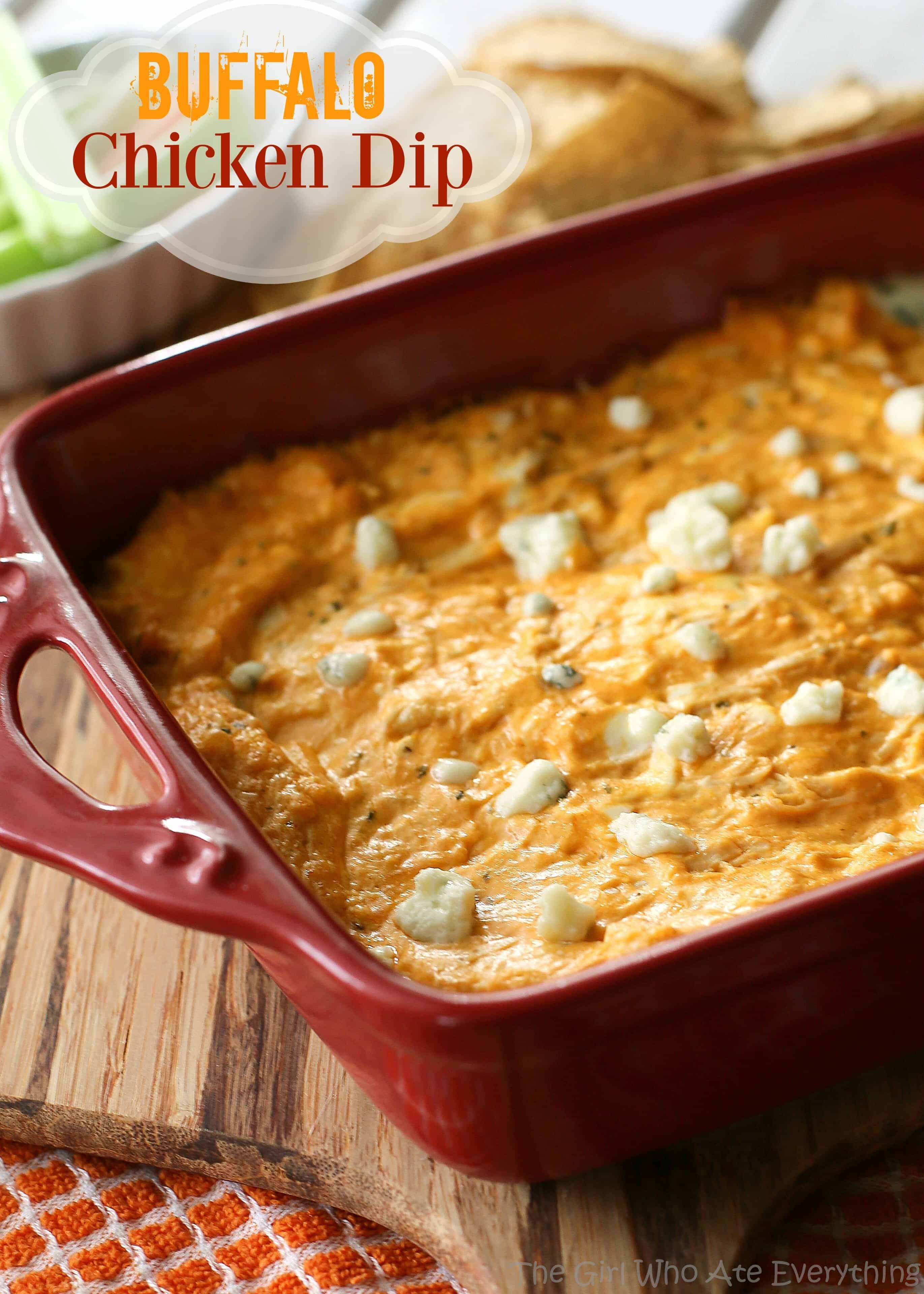 Buffalo Chicken Dip The Girl Who Ate Everything