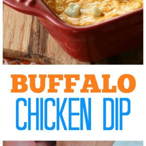 Buffalo Chicken Dip - we eat this almost every Sunday! A tried and true favorite. the-girl-who-ate-everything.com