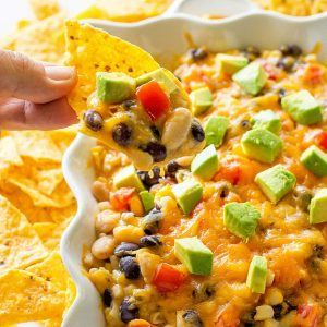 Black and White Bean dip - the best dip ever. Can even be used as a vegetarian burrito filling! the-girl-who-ate-everything.com