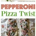 Pepperoni Pizza Twist - one of my family's favorites! the-girl-who-ate-everything.com