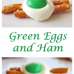 Green Eggs and Ham - great for Dr. Seuss themed parties. the-girl-who-ate-everything.com