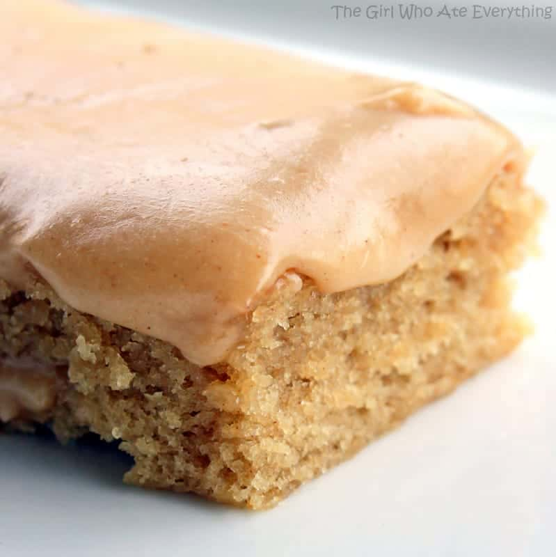 Cake Bars Using Cake Mix
