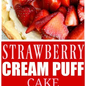 Strawberry Cream Puff Cake- the-girl-who-ate-everything.com