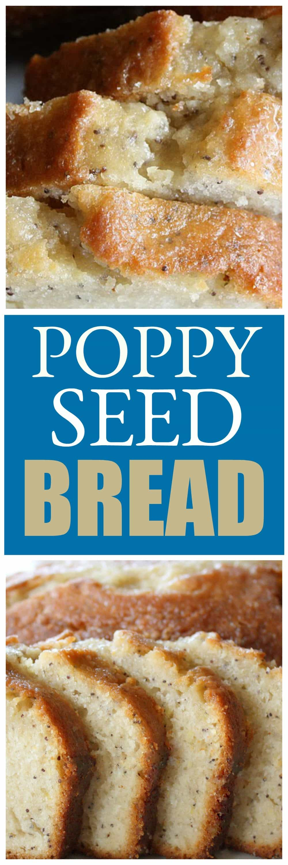 Almond Poppyseed Bread with an almond citrus glaze - a family recipe that is simply the best. Moist, buttery, poppy seed bread with a lemon, orange glaze. the-girl-who-ate-everything.com