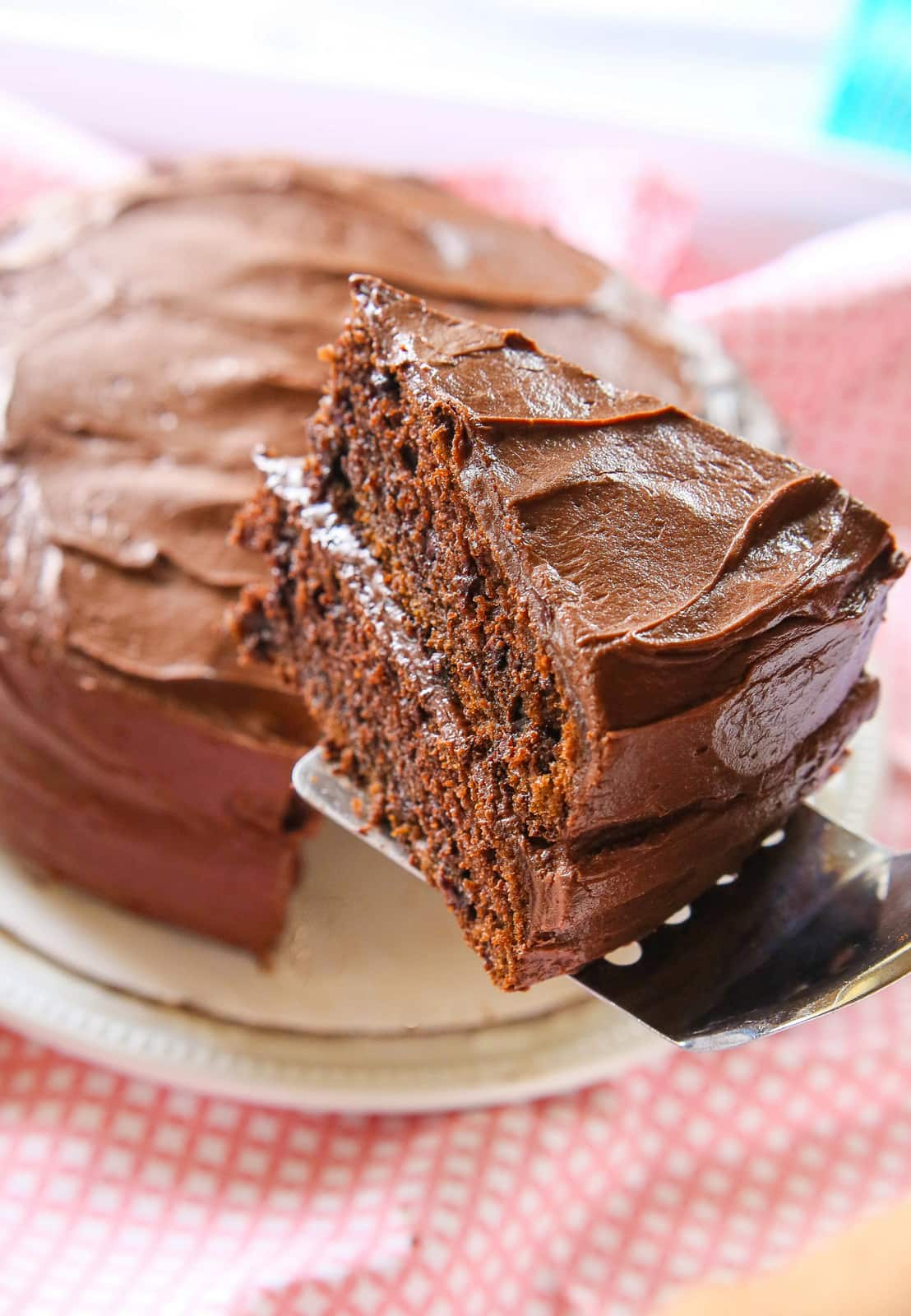 Hershey's Perfectly Chocolate Cake - The Girl Who Ate Everything