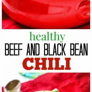 Healthy Spicy Beef and Black Bean Chili - 298 calories per serving! the-girl-who-ate-everything.com