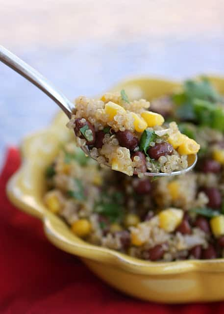 Quinoa and Black Bean Salad - the-girl-who-ate-everything.com