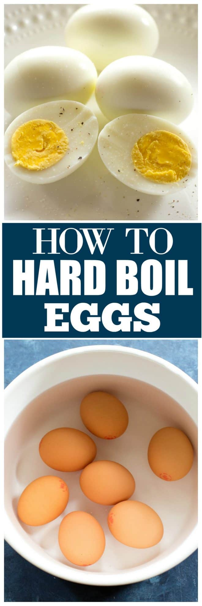 How to Hard Boil Eggs