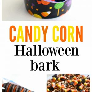 Candy Corn Halloween Bark - delicious and festive. I love this bark! the-girl-who-ate-everything.com