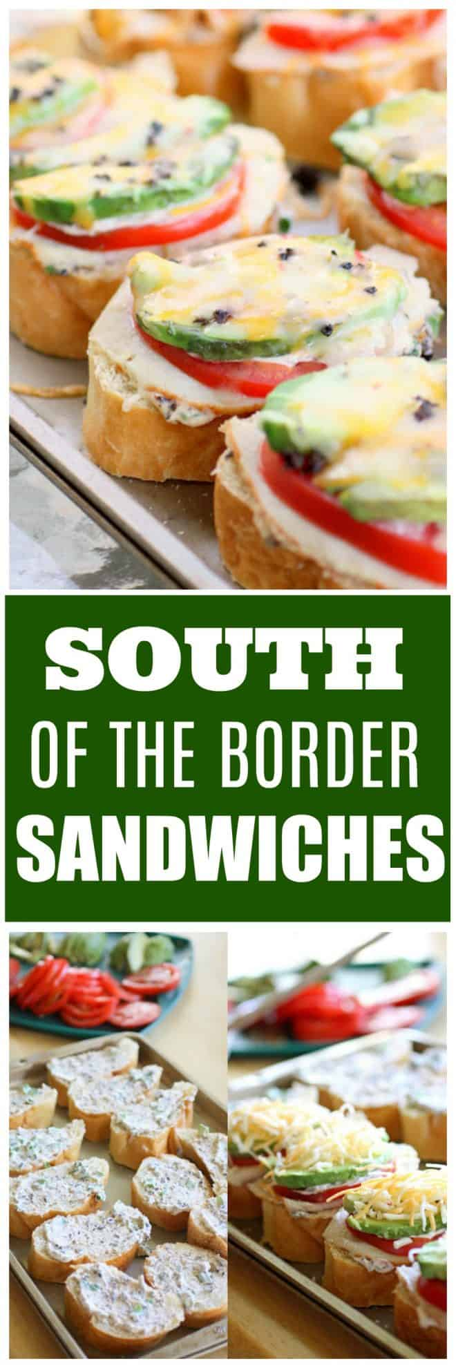 South of the Border Sandwiches
