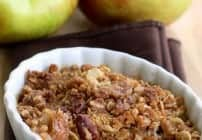 The Perfect Apple Crisp