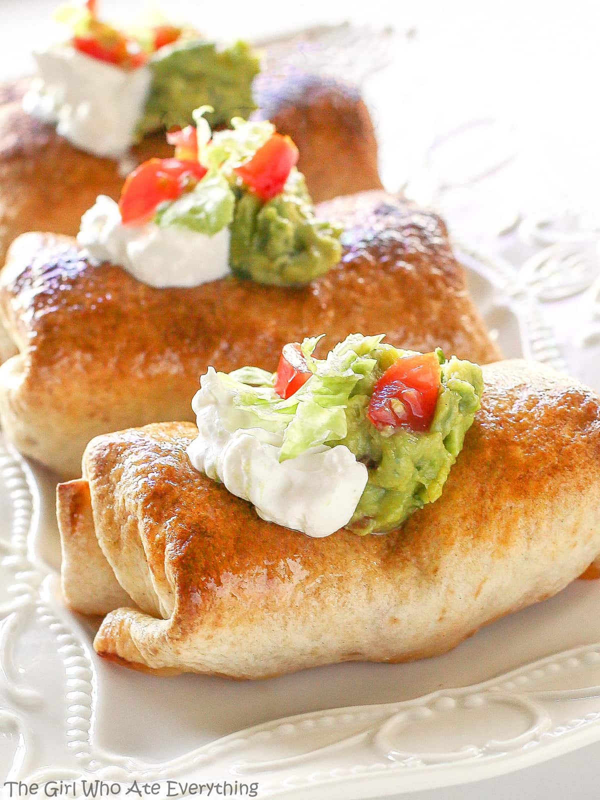 Almost Famous Chimichangas baked chicken chimichangas
