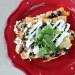 black-bean-chicken-enchiladas