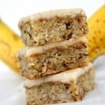Monkey Squares – Banana Bread Bars