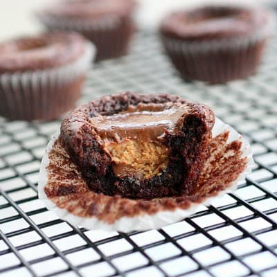 ... : Brownie Peanut Butter Cup Surprises - The Girl Who Ate Everything