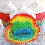 Rainbow Cupcakes…because life isn't always rainbows and skittles…