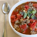 Steph's White Bean and Sausage Soup