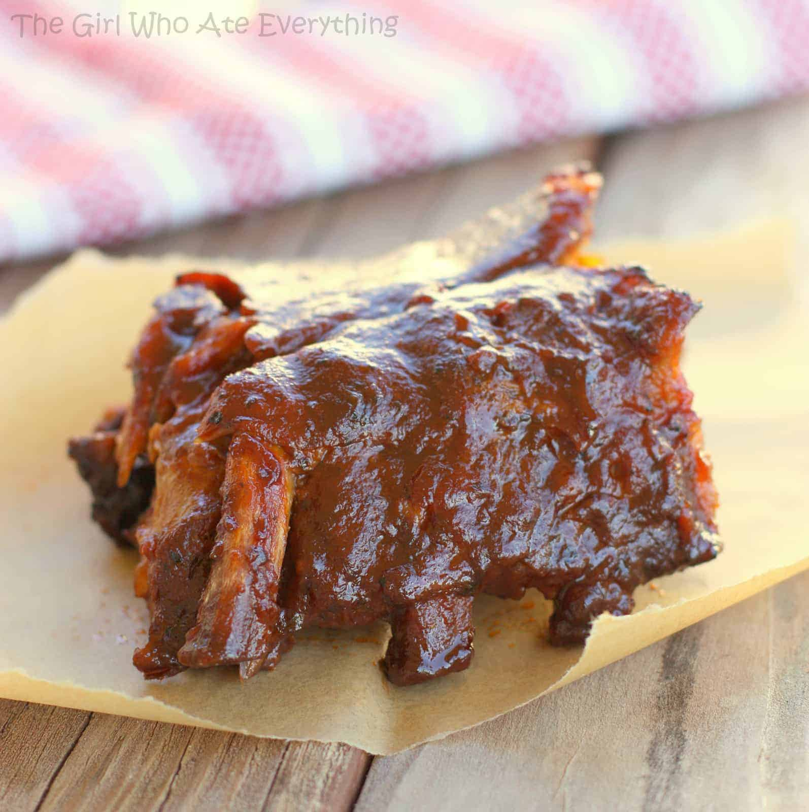 Slow Cooker Barbecue Ribs Recipe — Dishmaps