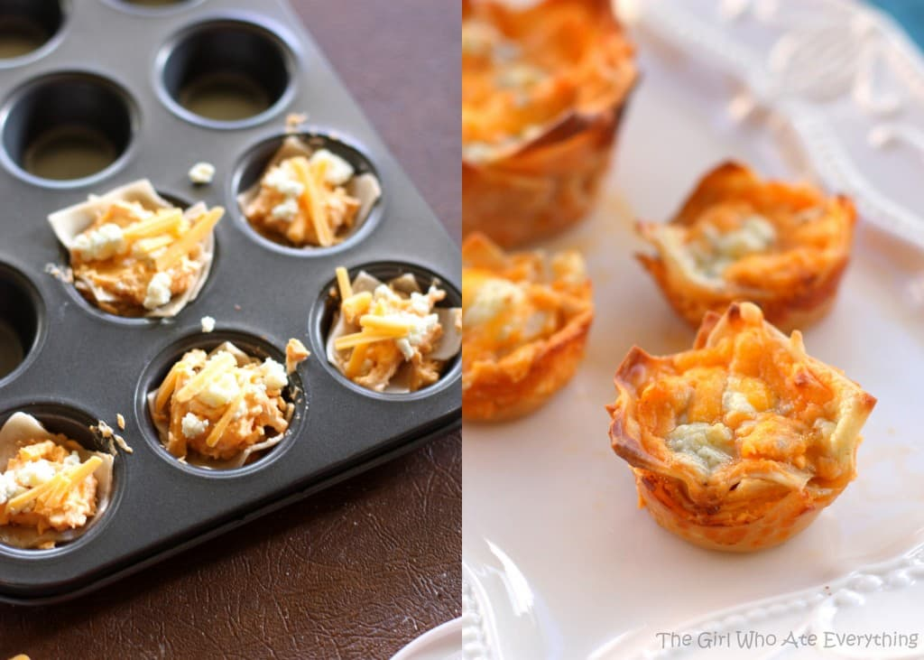 mini-buffalo-chicken-cupcakes