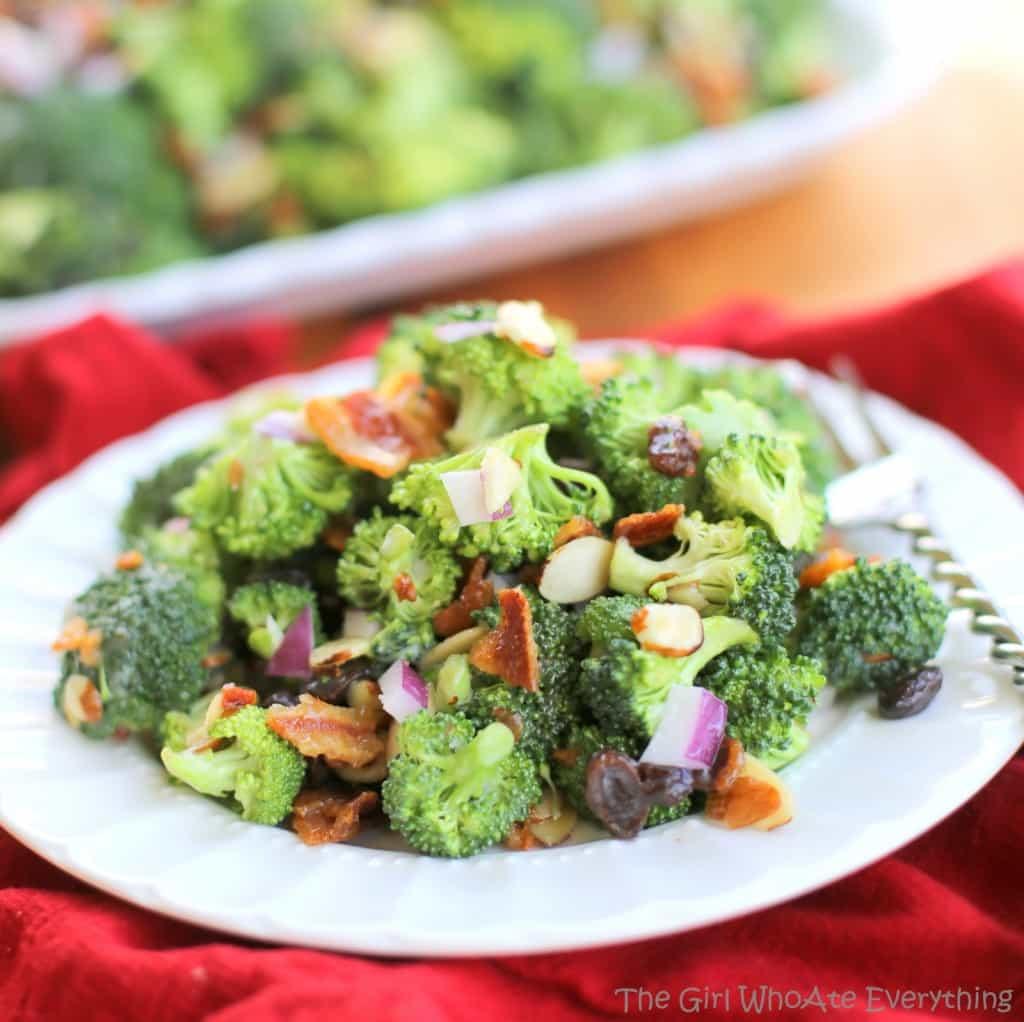 Broccoli Salad - The Girl Who Ate Everything