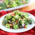 Broccoli Salad - The Girl Who Ate Everything