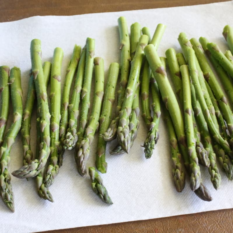 to bring out the excess moisture. Toss your asparagus with some honey ...