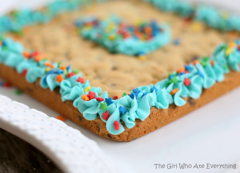 Chocolate Chip Cookie Cake Decorating Ideas