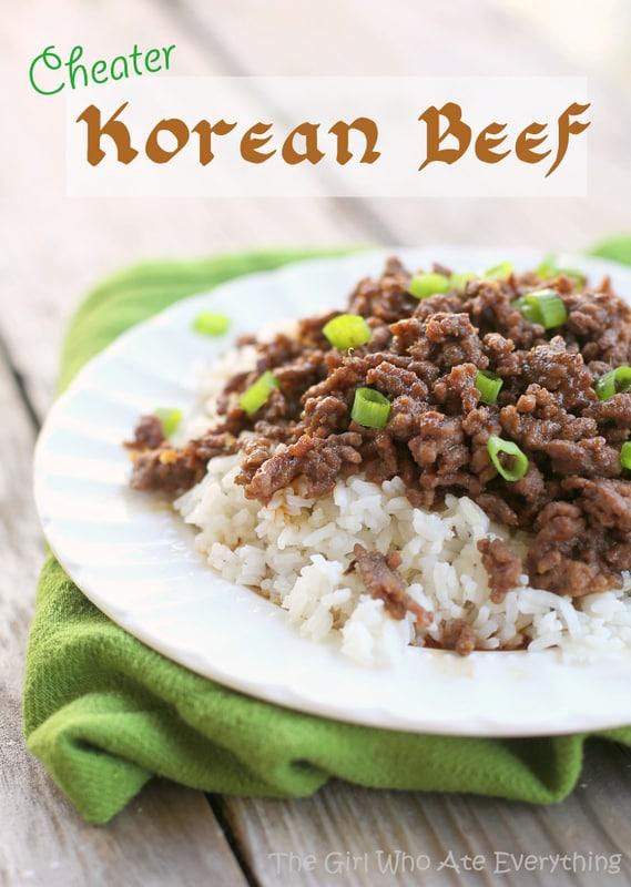 Cheater Korean Beef
