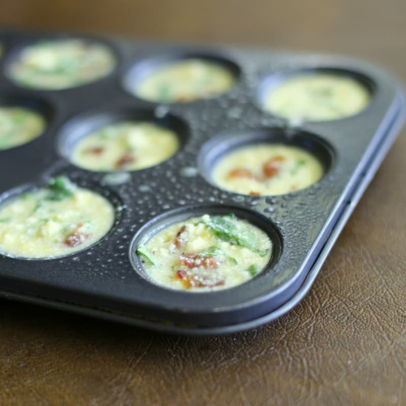 Mini Frittatas Recipe — Dishmaps