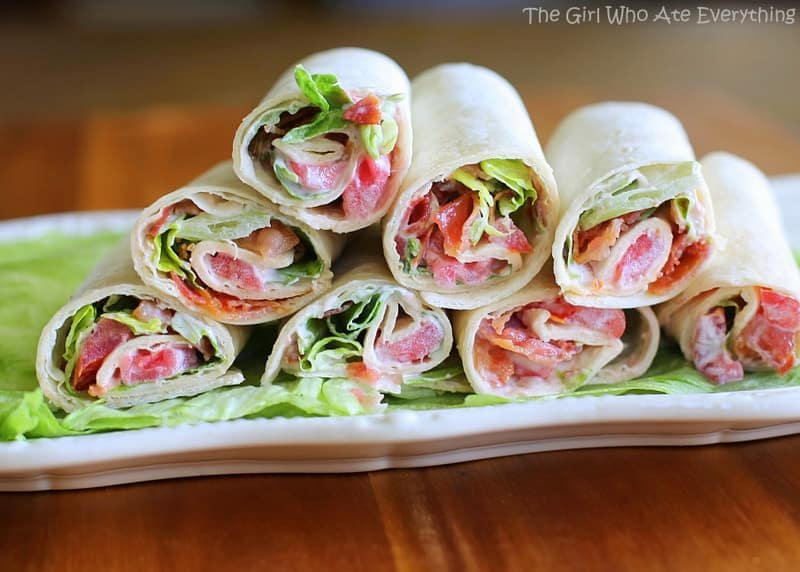 Mini BLT Wraps