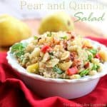 Pear Quinoa Salad