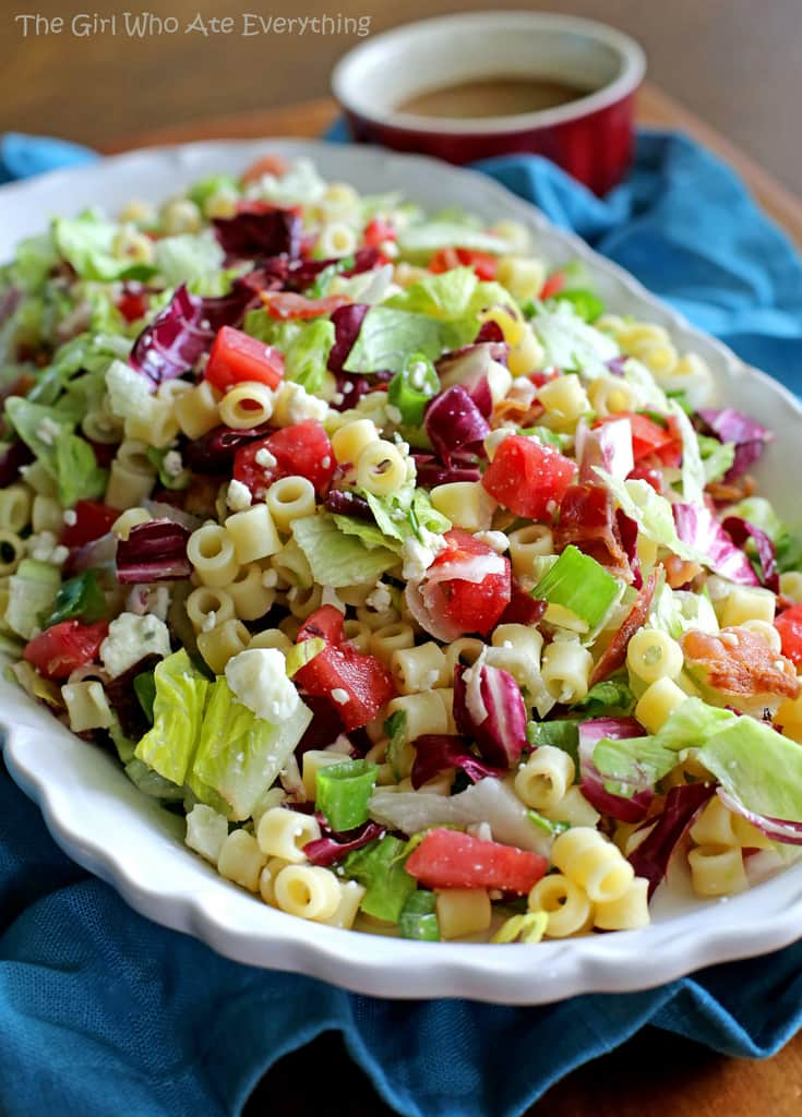 Copycat Portillo S Chopped Salad Recipe The Girl Who Ate Everything