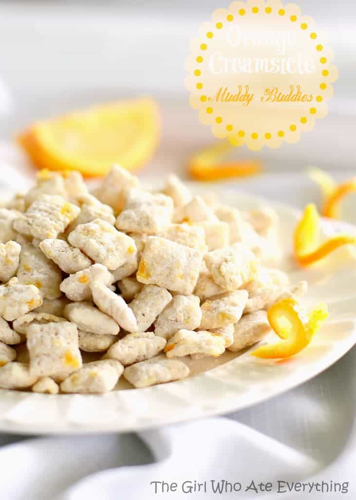 Orange Creamsicle Muddy Buddies