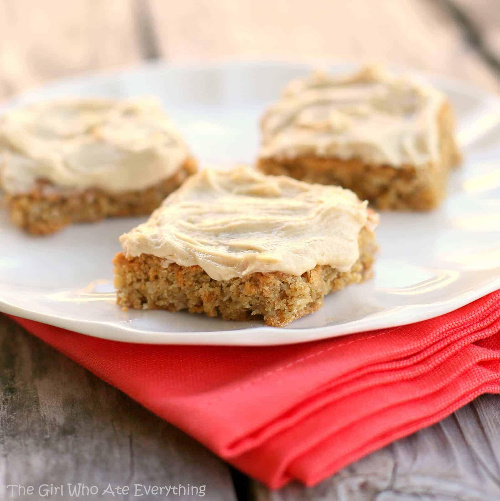 Peanut Butter Bars Recipe — Dishmaps