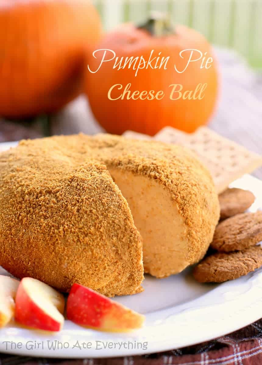 Image result for pumpkin pie cheeseball