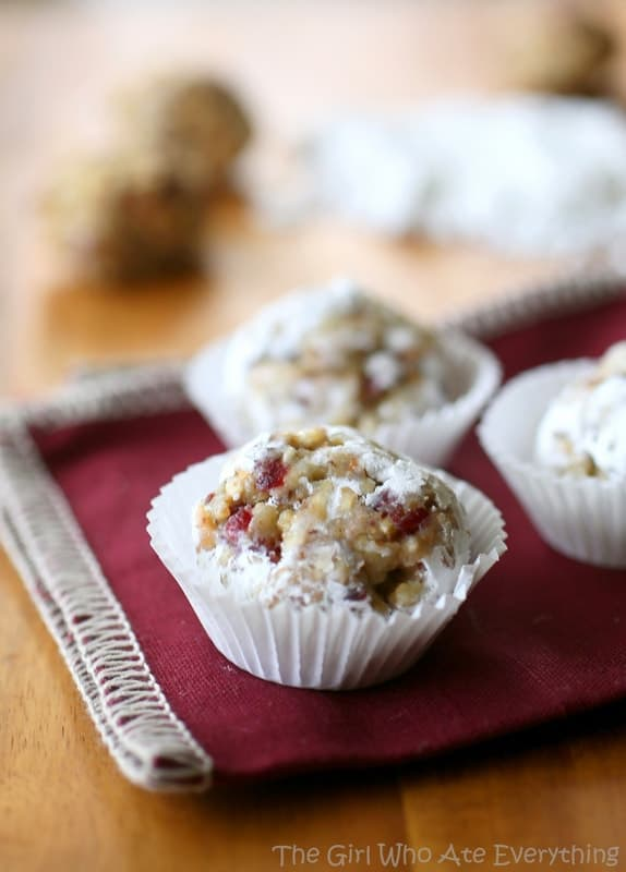 Cranberry Walnut Truffle | The Girl Who Ate Everything
