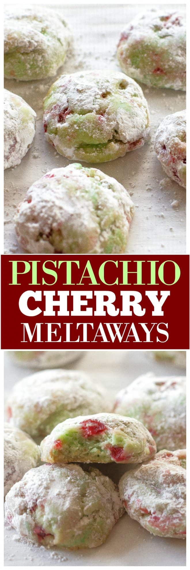 Pistachio Cherry Meltaways