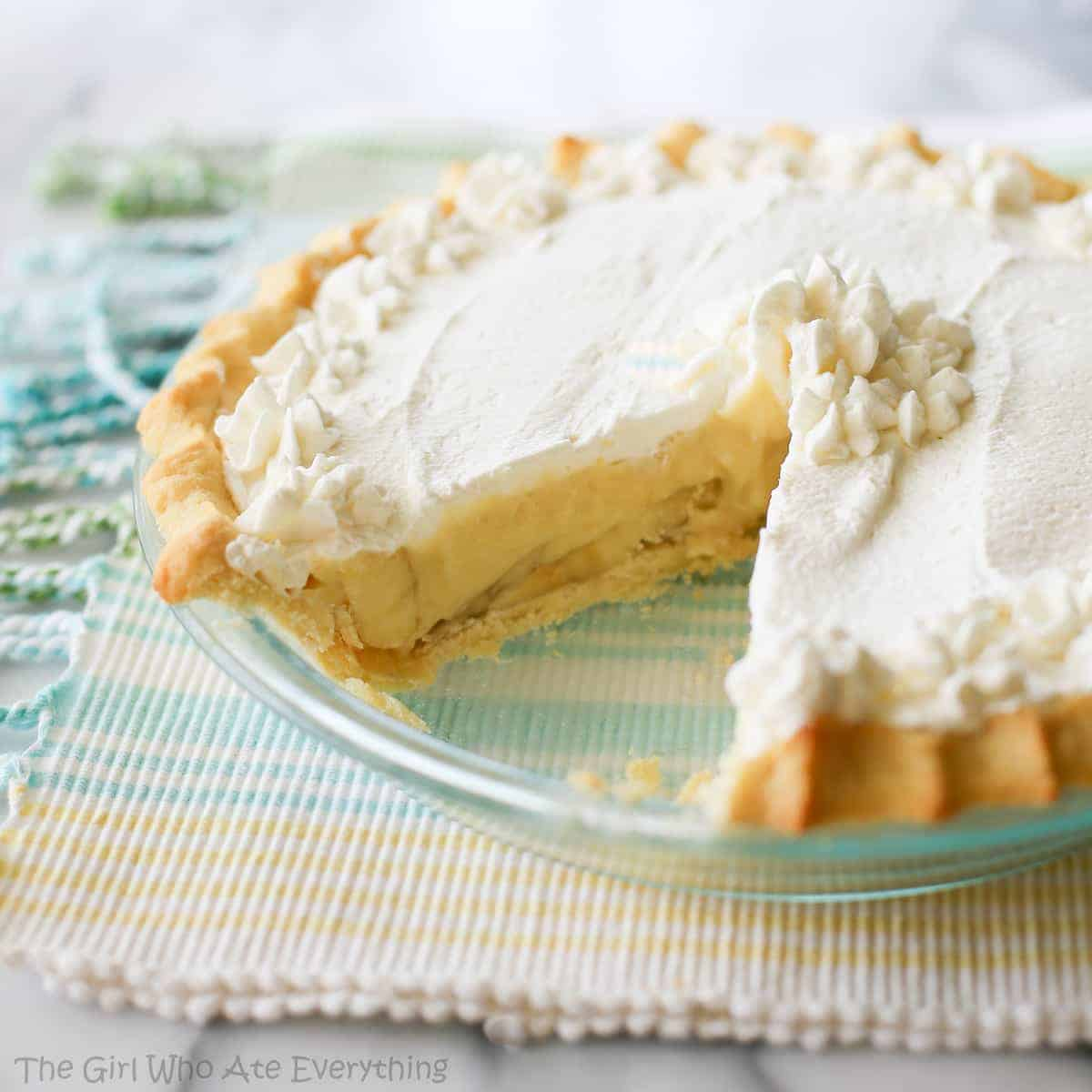 Banana Cream Pie | The Girl Who Ate Everything