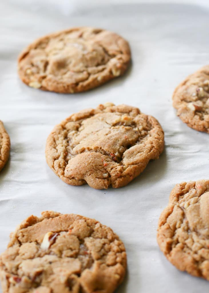 Chewy Carrot Cake Cookies   The Girl Who Ate Everything
