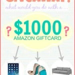$1000 Amazon Gift Card Giveaway