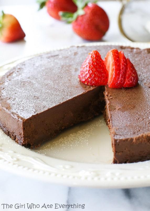 Flourless Chocolate Cake | The Girl Who Ate Everything