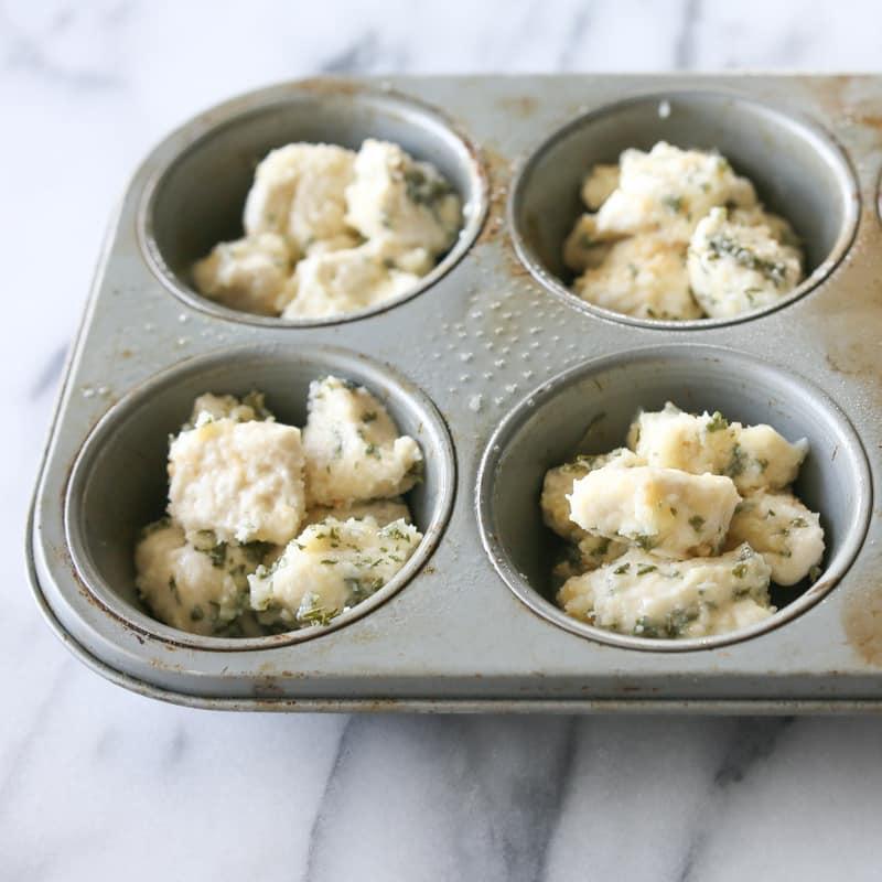Mini Garlic Monkey Bread | The Girl Who Ate Everything