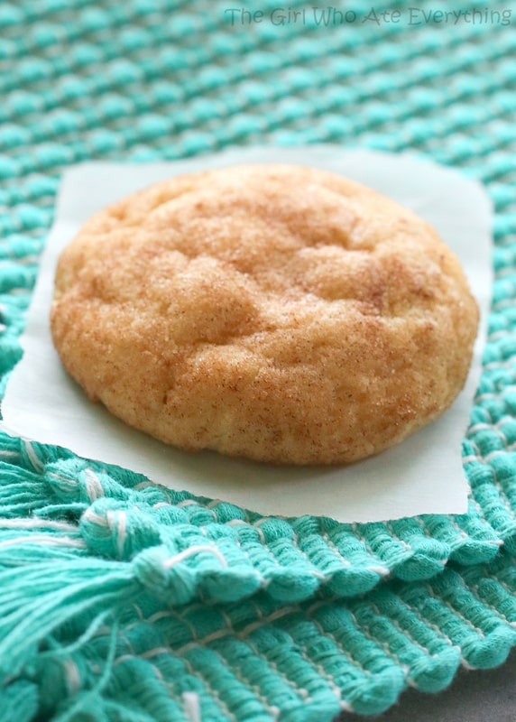 The Best Snickerdoodle Cookie Recipe The Girl Who Ate Everything