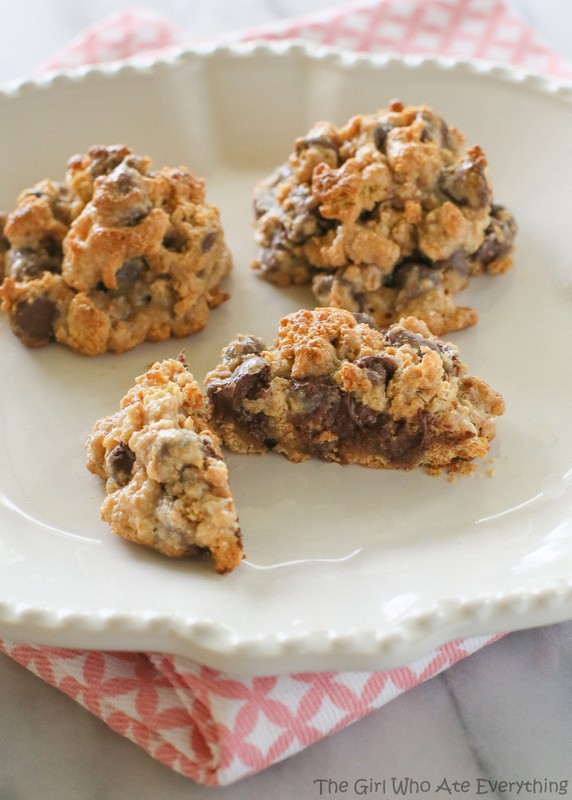 Heavenly Morsels - 3 ingredient cookies   The Girl Who Ate Everything